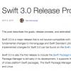 Swift 3.0のリリースプロセスが明らかに – 最初の開発者向けブランチは5月12日に作成