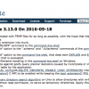 「SQLite 3.13」がリリース - Session Extension、Postpone I/Oの導入