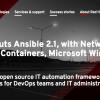 Red Hat、「Ansible 2.1」をリリース - Windows、コンテナ、ネットワーク自動化関連機能が強化