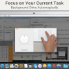HazeOver - アクティブなウィンドウ以外を暗くして集中力を高めることができるMacアプリ