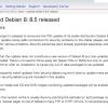 「Debian 8.5」がリリース - パッケージの更新とセキュリティ問題の修正