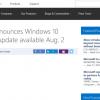 【速報】Windows 10 Anniversary Updateは8月2日にリリースか