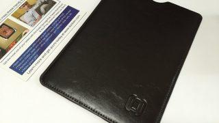 【レビュー】Dockem 合成皮革製iPad Mini/Retina/3/4用スリーブ