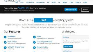 「ReactOS 0.4.2 RC1」がリリース – ファイルシステム、Cygwin&.NET 2.0、ゲームなど改良盛りだくさん