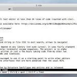 Kilo - 1000行以下のコードで実装された超コンパクトなテキストエディタ