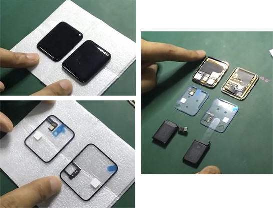 Apple Watch 2 parts