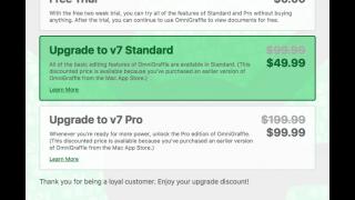 OmniGroup、無料ダウンロード+アプリ内課金方式に転換