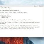 Komet - コミットメッセージ書き込み専用のMac用軽量テキストエディタ