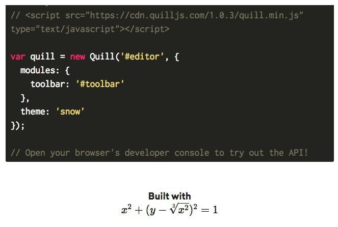 Quill – オープンソースのWYSIWYG ...