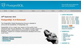 PostgreSQL 9.6がリリース - パラレルクエリにより処理速度が向上