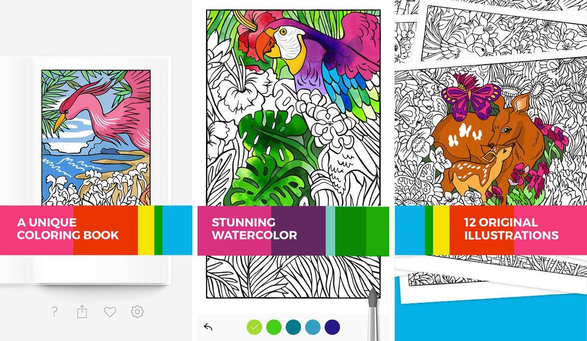 apple、受賞歴のある塗り絵アプリ「tayasui color」をapple store