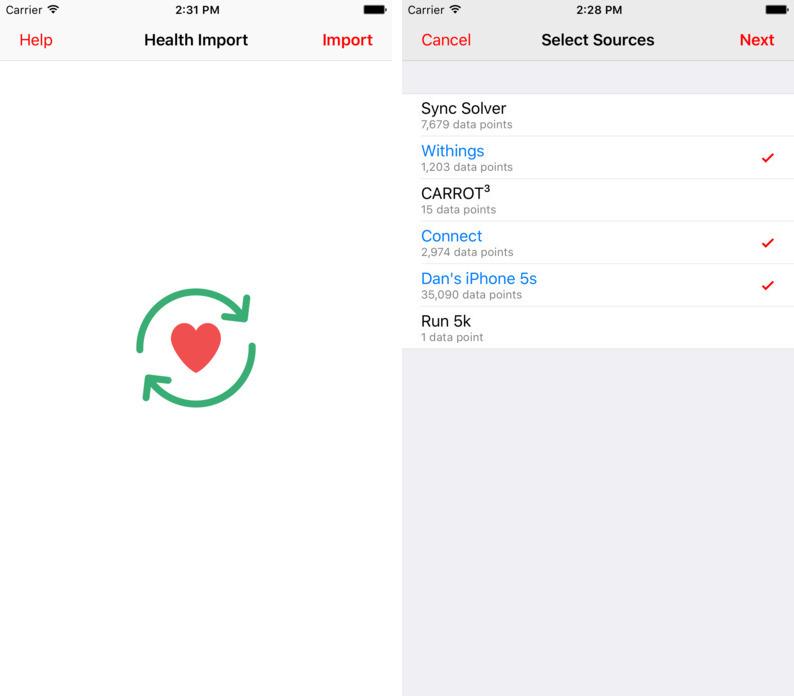 ヘルス ケア iphone