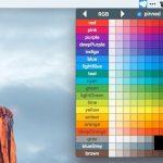 Materialette - マテリアルデザイン対応のカラーパレットを表示することができるメニューバーアプリ