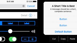 Appleの公式デザイン素材「Apple UI Design Resources」がiOS 10に対応