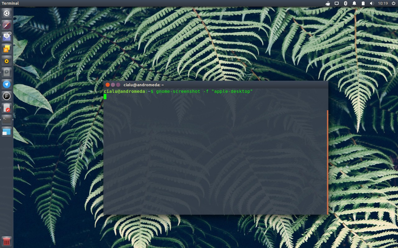 Apple linux desktop