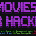 Movies For Hackers - ハッカー&サイバーパンク好き必見の映画リスト