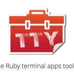 The Ruby terminal apps toolkit - プログレスバーやスピナー等ターミナルアプリを作成する際に便利なRuby用gem詰め合わせキット