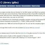 GNU C Library v2.25がリリース -  getentropy()やgetrandom()関数が追加
