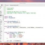 Macaw - SwiftによるSwiftのためのシンプルなコードエディタ