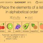 Illustrated Algorithms - 難しいアルゴリズムを楽しく学習することができるビジュアライゼーション