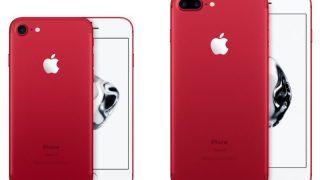 赤色が好きな方のためのiPhone 7 (PRODUCT)REDにインスパイアされた壁紙