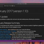 Visual Studio Code 1.10が公開 - MinimapやオフィシャルLinuxリポジトリが追加