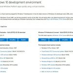 Microsoft、無料で利用できるWindows 10仮想マシンを更新 - Visual Studio 2015 Community Update 3 を同梱