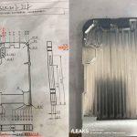 iPhone 8用の金型と図面の写真が公開