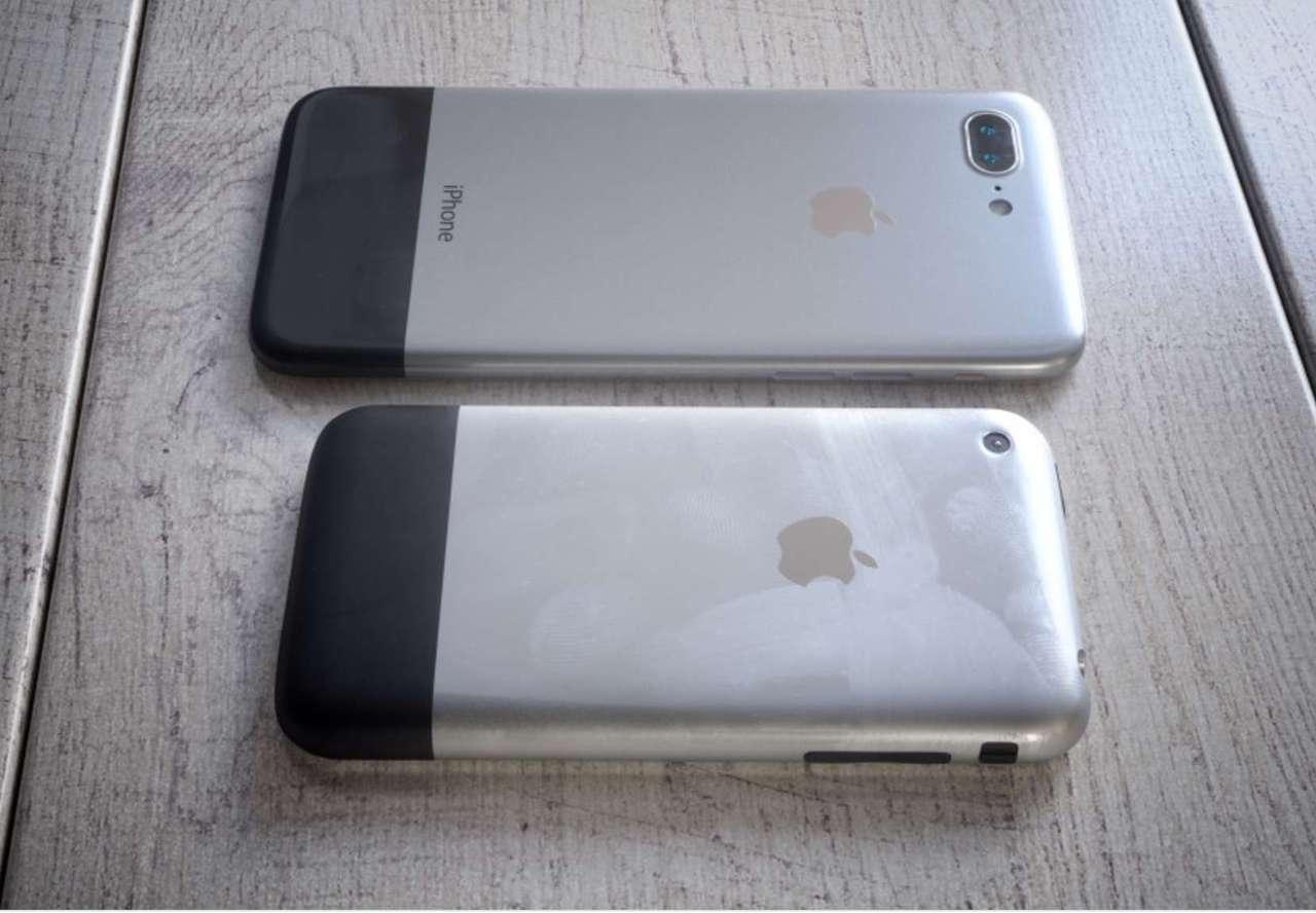 Retro iphone x