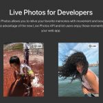 Apple、Live Photos用のJavaScript APIを公開 - Webサイトに埋め込んで表示可能に