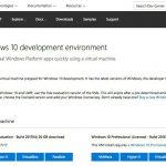 Microsoft、開発環境全部入りのWindows 10仮想マシンイメージを更新 - 2017年4月エディション