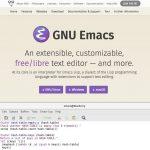 Emacs 25.2がリリース - 不具合修正版