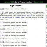 Nginx 1.13安定版がリリース - TLS 1.3をサポート