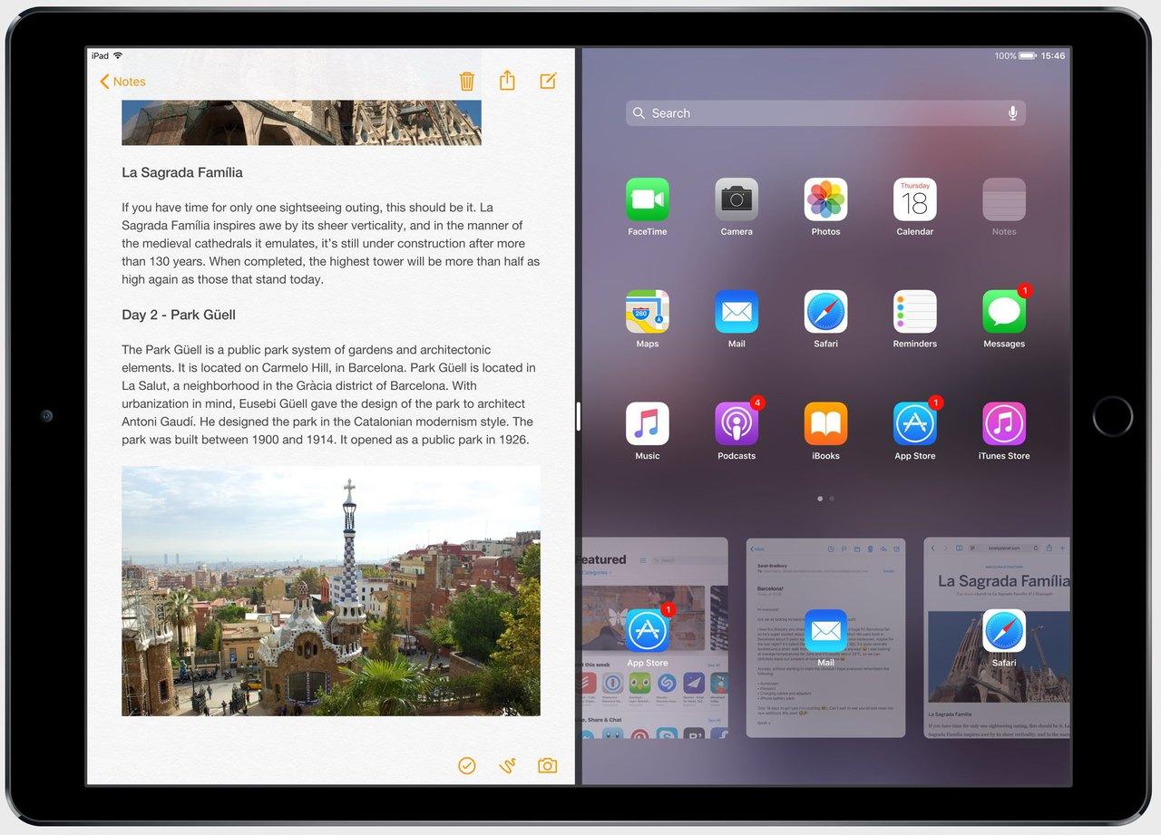 IOS 11 concept iPad Split View teaser 002