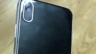 iPhone 8のダミーハンズオン動画が早くも登場 - 背面にTouch IDが存在するクローンの画像も