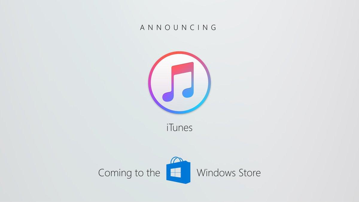 Itunes on windowsstore