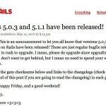 Rails 5.0.3と5.1.1がリリース