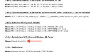 【速報】Windows 10のソースコード・内部ビルド32TBがインターネット上に流出