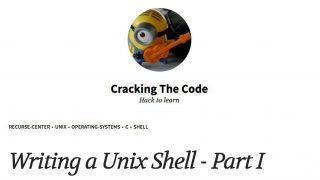 Writing a Unix Shell - UNIXシェルを自分で作成するためのドキュメント