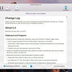 Alfred 3.4がリリース - スニペットの改良と新しいWorkflowオブジェクトの追加