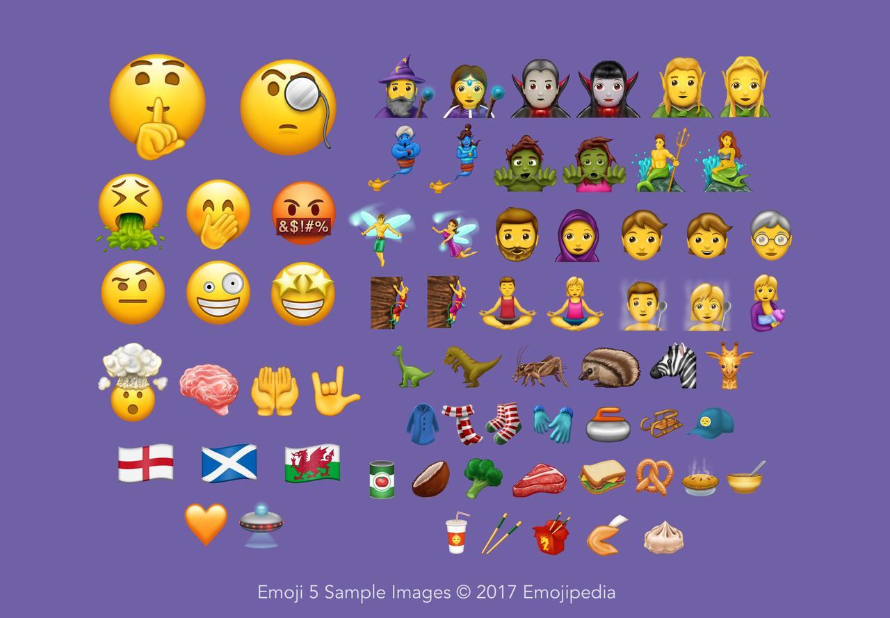 Emoji 5 sample images overview emojipedia 2017