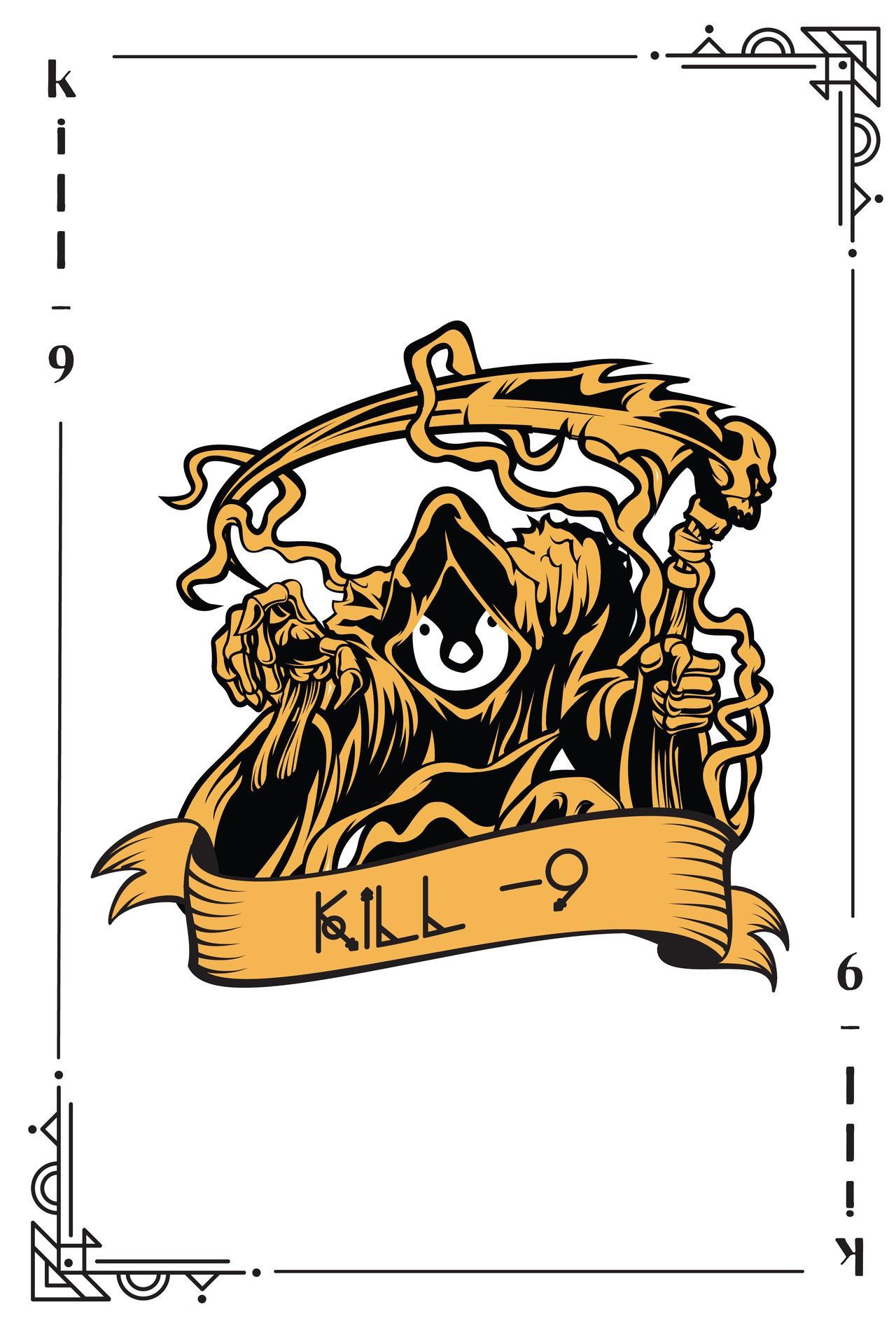 Kill card