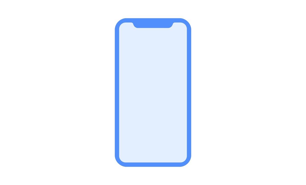 D22 iPhone 8 glyph