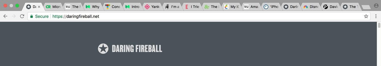 Chrome df tabs