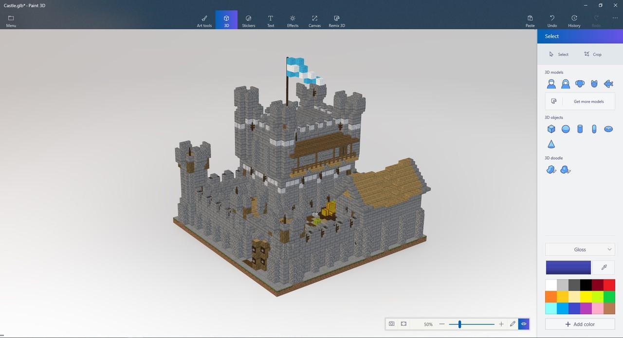 Minecraft export 2