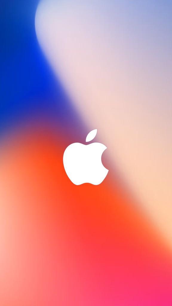 Apple Event Wallpaper iPhone 8 iDownloadBlog AR7 logo 576x1024