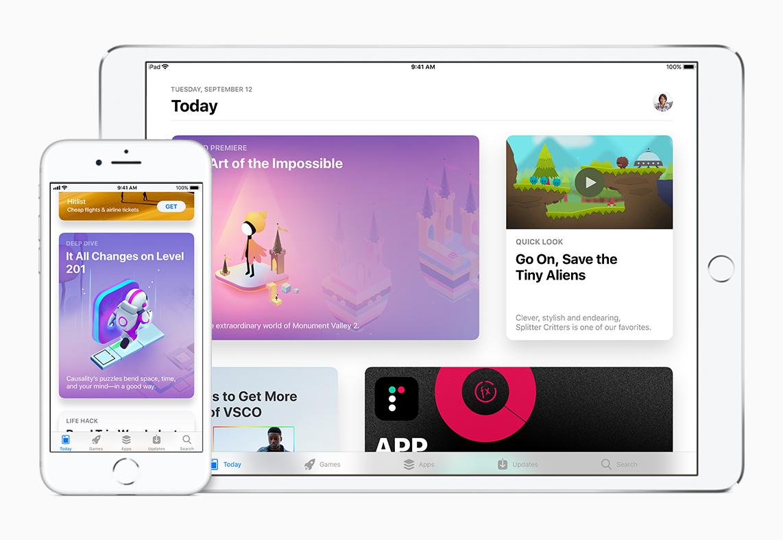 IOS 11 productivity app store