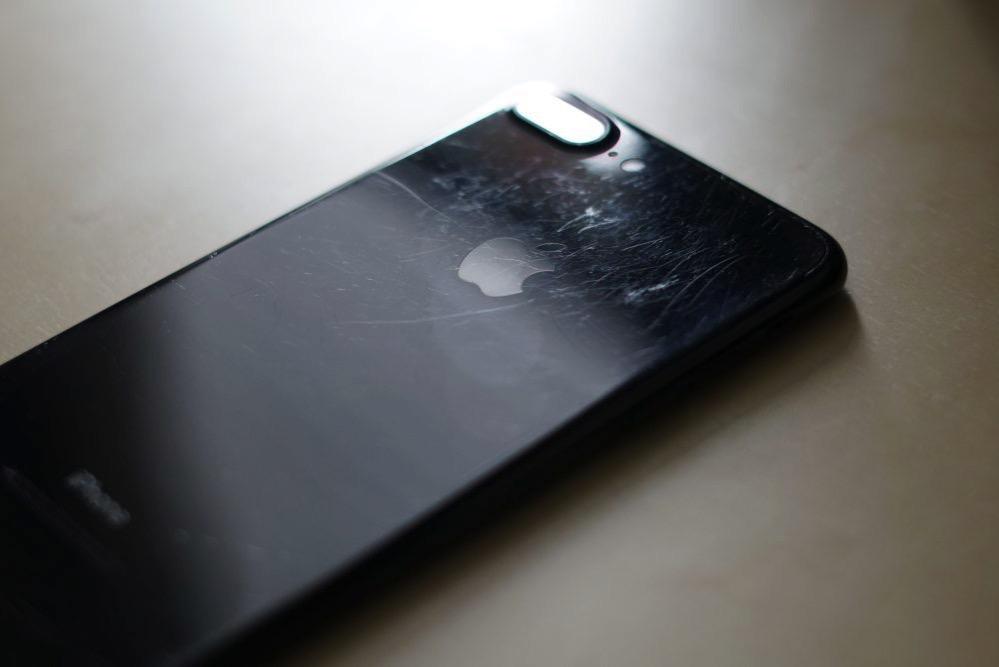 Iphone 7 plus jet black 2