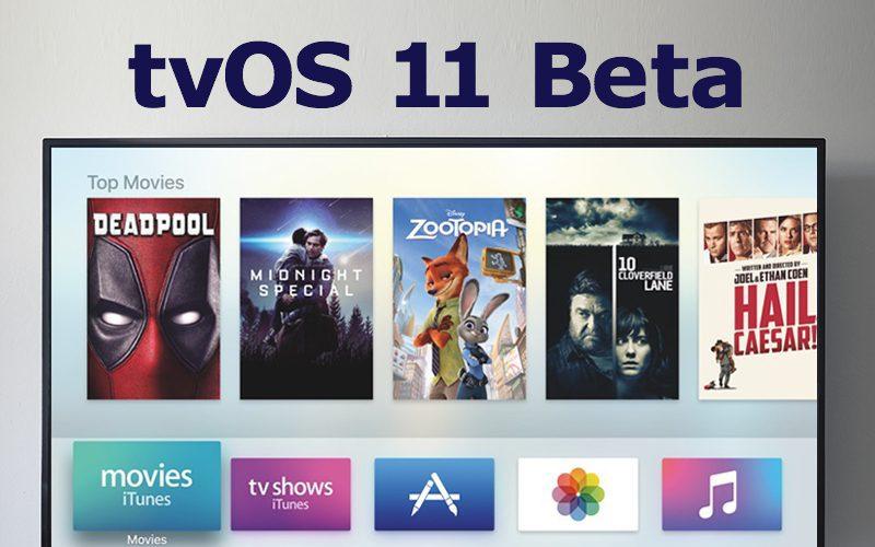 Apple、tvOS 11 beta 10を開発者...