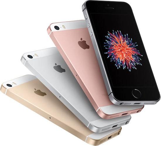 IPhone SE four colors